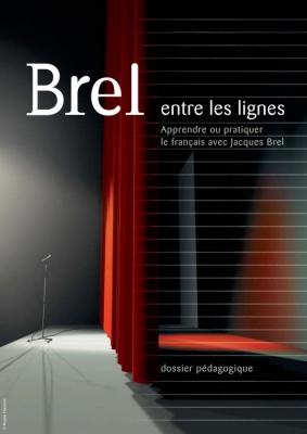Couverture de la brochure Apprendre ou pratiquer le français avec Jacques Brel
