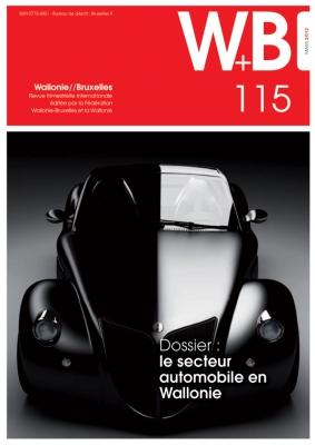 Couverture de la Revue W+B numéro 115 de mars 2012