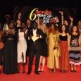 Les lauréats 2018 accompagnés des remettants et des deux animateurs Oumy Ndour et Omar Defunzu - cliquer pour agrandir