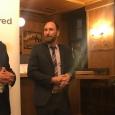 Une délégation de l'UMons reçue à Munich - De g. à d.: M.Mathieu Quintyn, M. Quentin Derzelle, M. Alexander Homann - cliquer pour agrandir