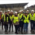 La délégation wallonne lors de la visite de SORTERA-SOGETRI, réseau qui assure un traitement et une valorisation respectueuses des déchets à Genève - cliquer pour agrandir