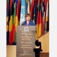 Alda Greoli à la 39ème Conférence générale de l'Unesco - cliquer pour agrandir