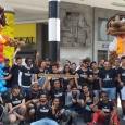 """Dans le cadre du projet """"Citoyens d'Europe"""", les jeunes ont organisé une marche à Bruxelles pour l'accueil et la justice migratoire - cliquer pour agrandir"""