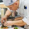 Cuisine (41 concurrents) : Lionel VAN ROYEN, 20 ans, Province de Namur (Ciney), étudiant en alternance au Centre IFAPME de Villers-le-Bouillet, travaille depuis peu au Naxhelet à Wanze, coaché par l'Expert Frédéric Deroppe, Epicuris Villers-le-Bouillet. - cliquer pour agrandir