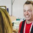 Menuiserie (26 concurrents) : Julien NEULENS, 22 ans, Province du Luxembourg (Vielsalm), travaille à son compte comme indépendant — coaché par l'Expert Patrick Bergenhuizen, Don Bosco Verviers. - cliquer pour agrandir