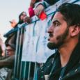 """Un spectateur du spectacle """"Le Cauchemar de Darwish"""" - cliquer pour agrandir"""