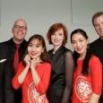 Zénon Kowal, Isabelle Tabary et les musiciens de Wallonie-Bruxelles et du Vietnam - cliquer pour agrandir