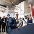 Rachid Madrane, Ministre de la Fédération Wallonie-Bruxelles en charge de la Promotion de Bruxelles - cliquer pour agrandir