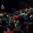 Noam Chomsky au Centre Wallonie-Bruxelles à Paris - Photo: © Vinciane Lebrun-Verguethen - cliquer pour agrandir