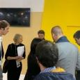 Julie Dumont, ALS au Brésil, en compagnie d'une délégation de partenaires lors du Smart City Expo World Congress à Barcelone - cliquer pour agrandir
