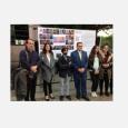 Laurent Wehrli, syndic de la ville de Montreux, et les jeunes de Molenbeek - cliquer pour agrandir