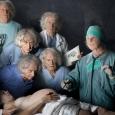 """3la nouvelle leçon d'anatomie"""" d'après Rembrandt - Nicolas Florence & Flore Vanhulst - cliquer pour agrandir"""