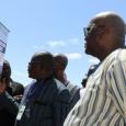 Visite du stand de l'IGMVSS par le Président du Faso Roch Marc Christian KABORE - cliquer pour agrandir