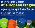 """Affiche """"Journée des Langues européennes à Hanoi"""""""