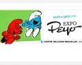 Expo Peyo: 60e anniversaire des Schtroumpfs au Centre W-B de Paris
