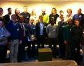 La délégation académique de Wallonie-Bruxelles avec leurs homologues suédois