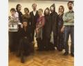 La troupe de théâtre francophone de l'Université d'Etat de Saint-Pétersbourg