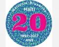 Logo 20 ans de coopération avec Haïti