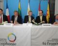 Réunion de l'Organisation internationale de la Francophonie avec les représentants de la Lituanie